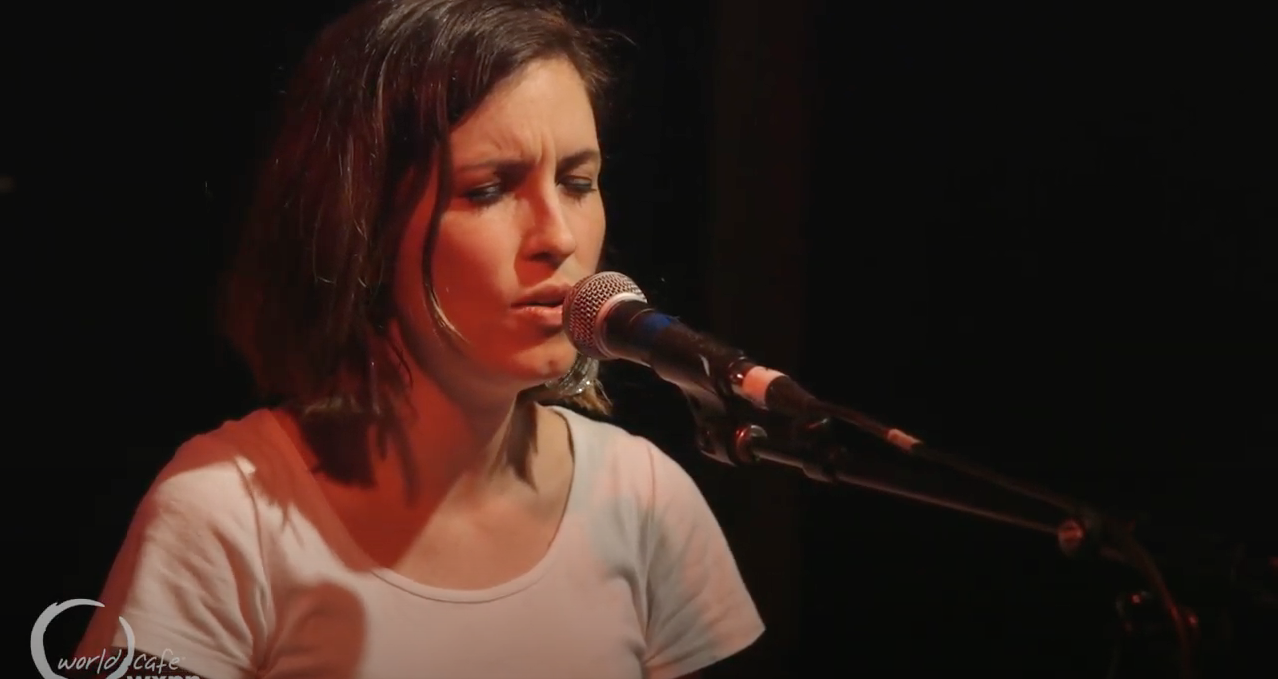 "Missy Higgins – ""Oh Canada"" – Recorded Live for World Cafe"